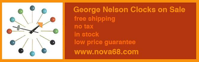 George Nelson Clocks